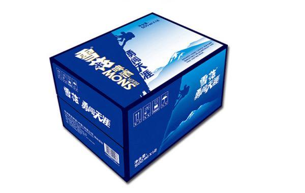 啤酒外包装纸箱
