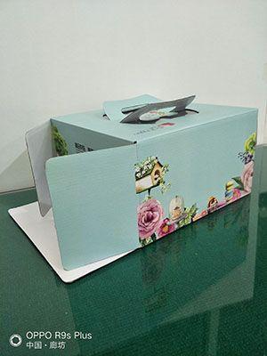 精美蛋糕盒